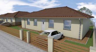 Eladó új építésű, önálló családi ház, nappali+3 szoba!