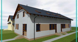 Tökölön új építésű, dupla komfortos sorházi lakások saját telekrésszel eladók!