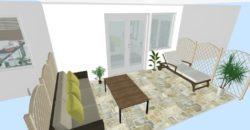 Eladó Taksonyban, fiatalos, új építésű részen, kertvárosi övezetben, téglaépítésű ikerházak!