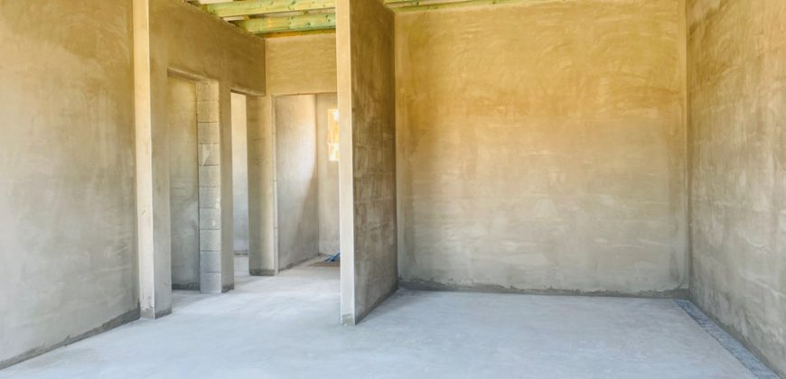 Szigethalmon új építésű, nappali+3 szobás, hátsó ikerházi lakás eladó!