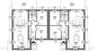 Szigethalmon új építésű ikerházi lakás eladó