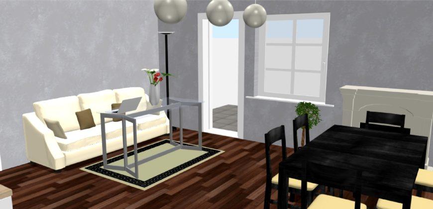 Új építésű, nappali+3 szobás tárolóval érintkező ikerház eladó!